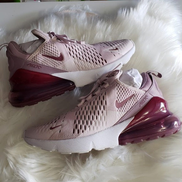 Womens Nike Air Max 270 Barely Rose Vintage Wine